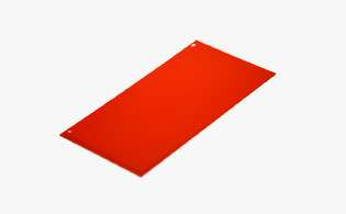 Polymer water or alcohol washable printing plate